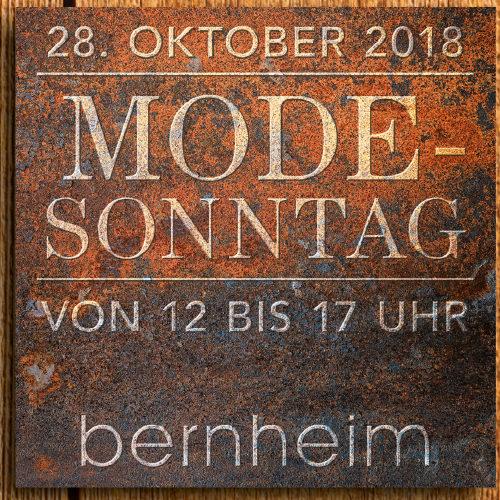 """<h4 class=""""fashion-post"""">Modesonntag</h4>28.10.2018"""