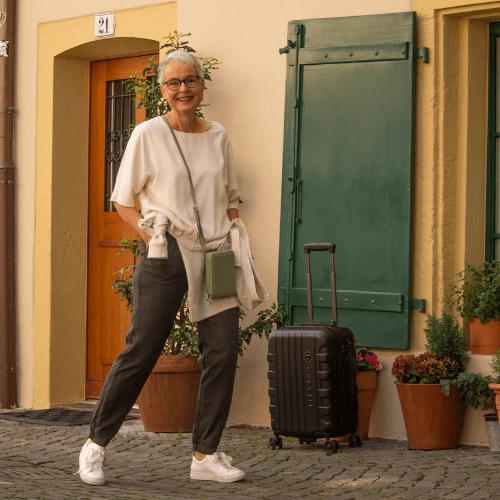 Reiselooks – bequem unterwegs