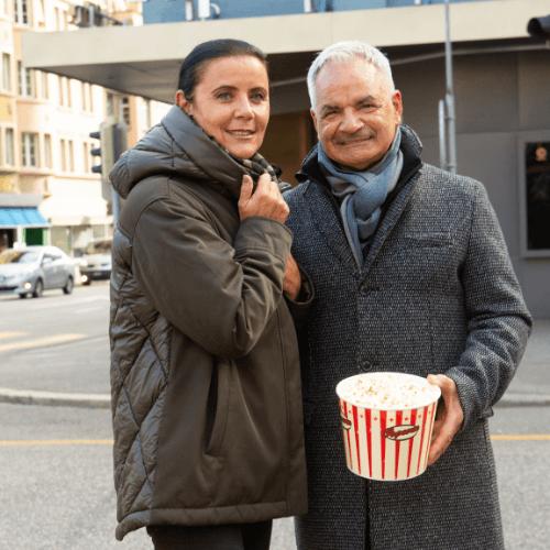 Jackenwochen: Popcornduft & Kältehelden bei Bernheim